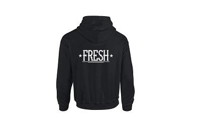 Hoodie Fresh Tekst