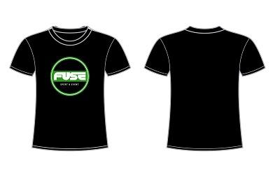 20201102 ZWART Shirt FUSE SPORT