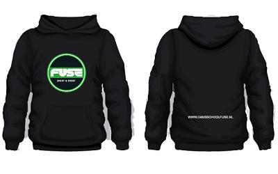 20201110 Hoodie FUSE Sport Zwart