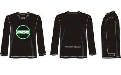 20201110 Sweater LS FUSE Sport Zwart